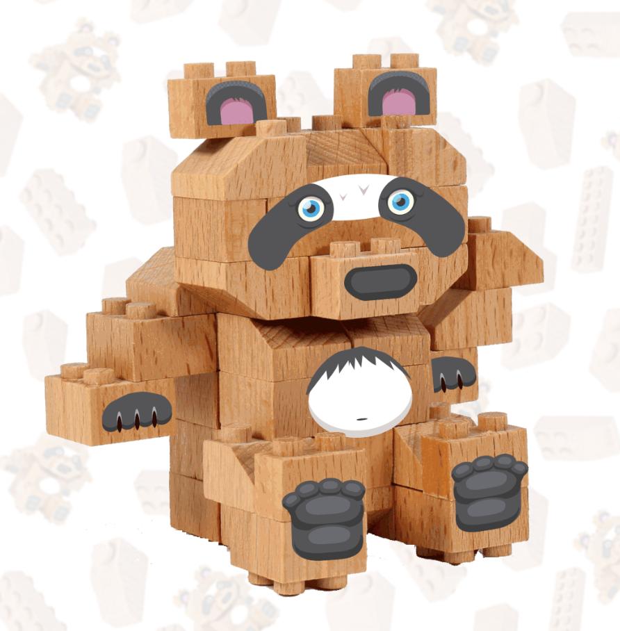 Panda Gigante | FabBrix Bricks