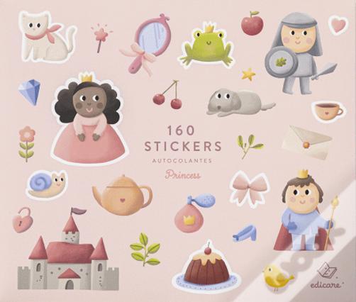 Princesas | Livro com 160 Autocolantes