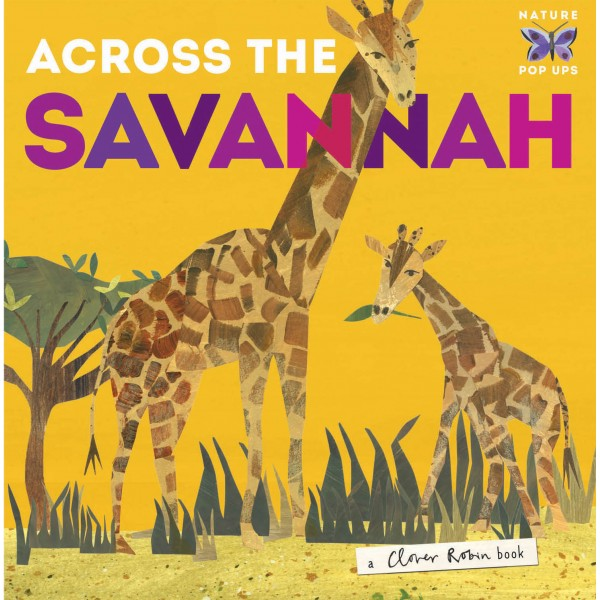 Across the Savannah (Nature Pop-Up)