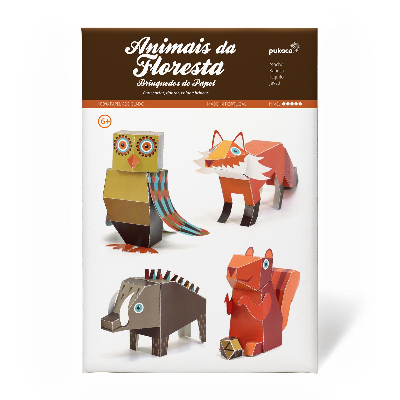 Animais da Floresta - Pukaca