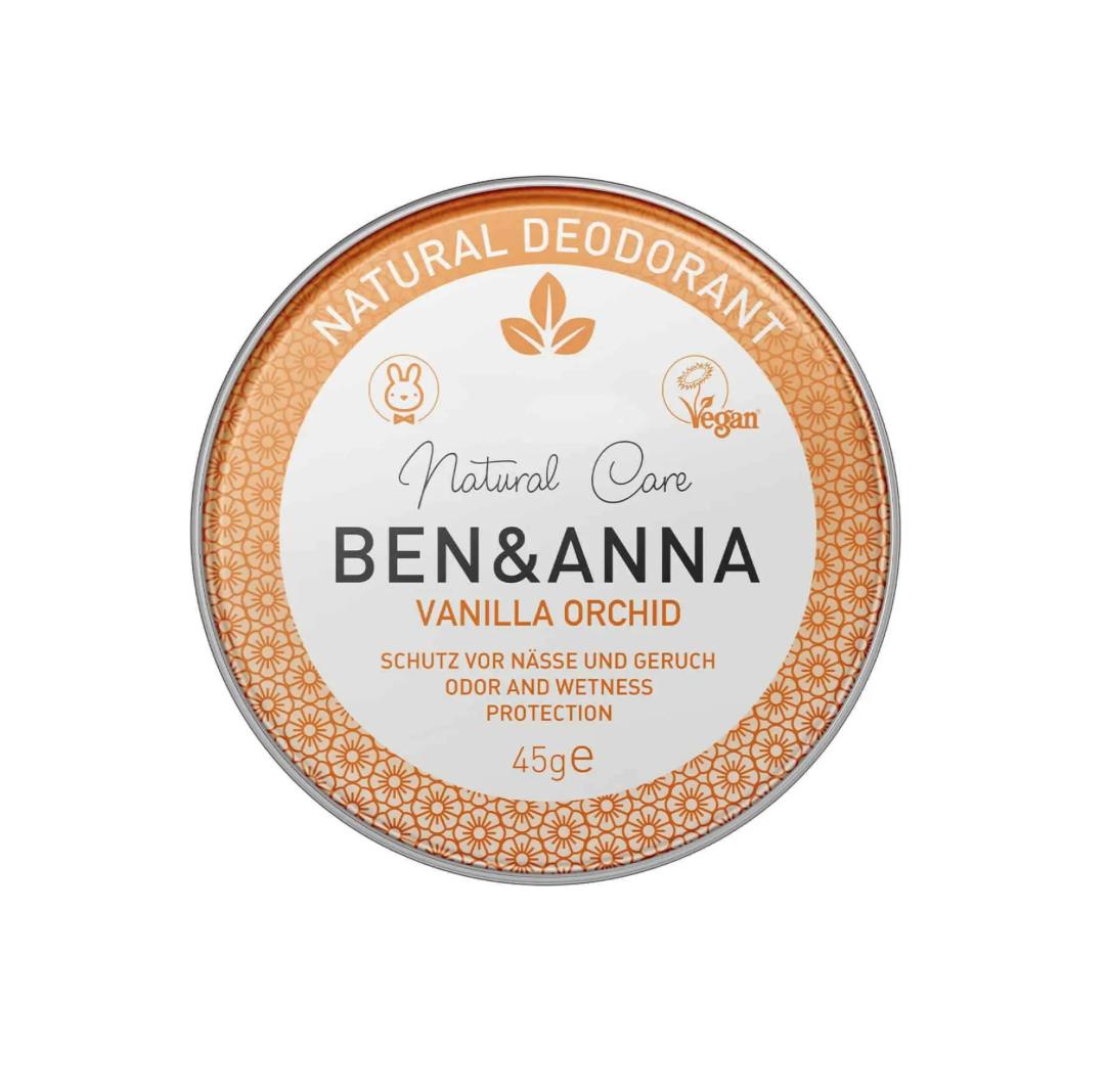 Desodorizante Natural em Lata - Baunilha | Ben & Anna