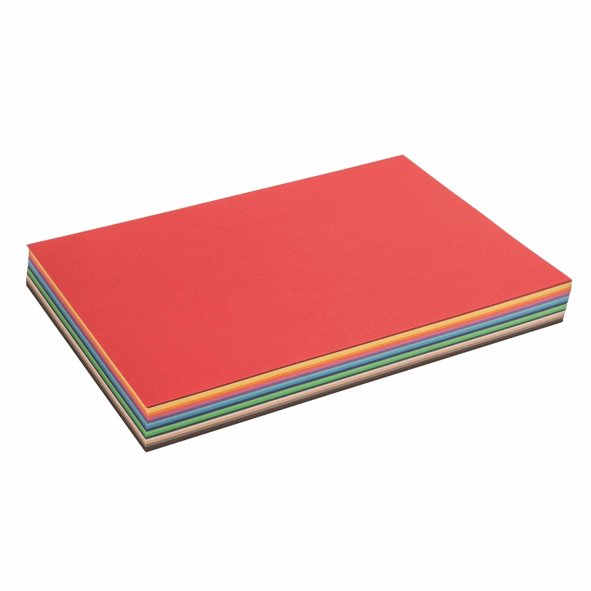 Folhas Coloridas Vários Formatos