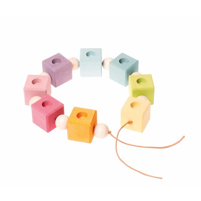 Cubos Candelabros de Aniversário Colorido - Grimm's