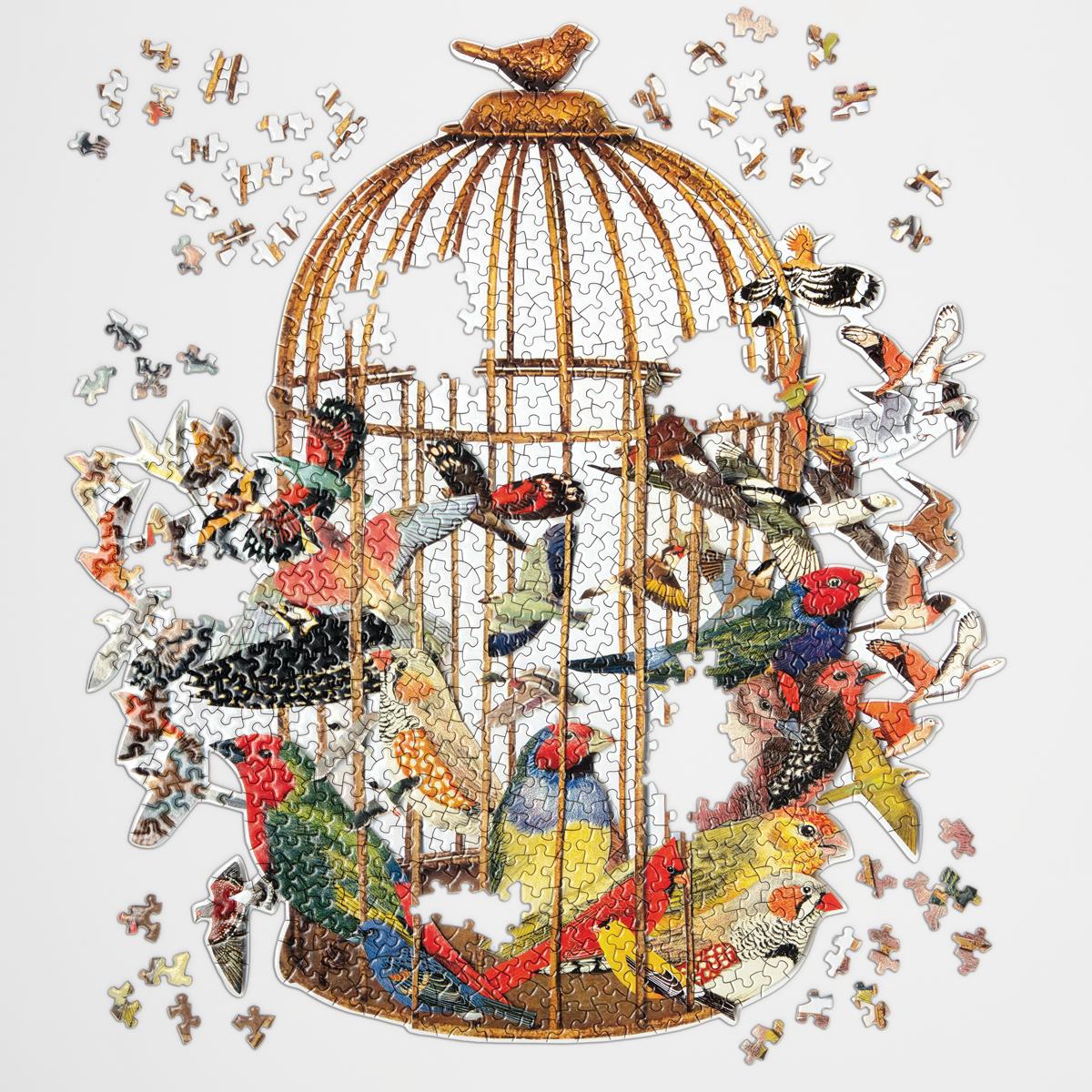 Bouquet of Birds 750 Peças Puzzle