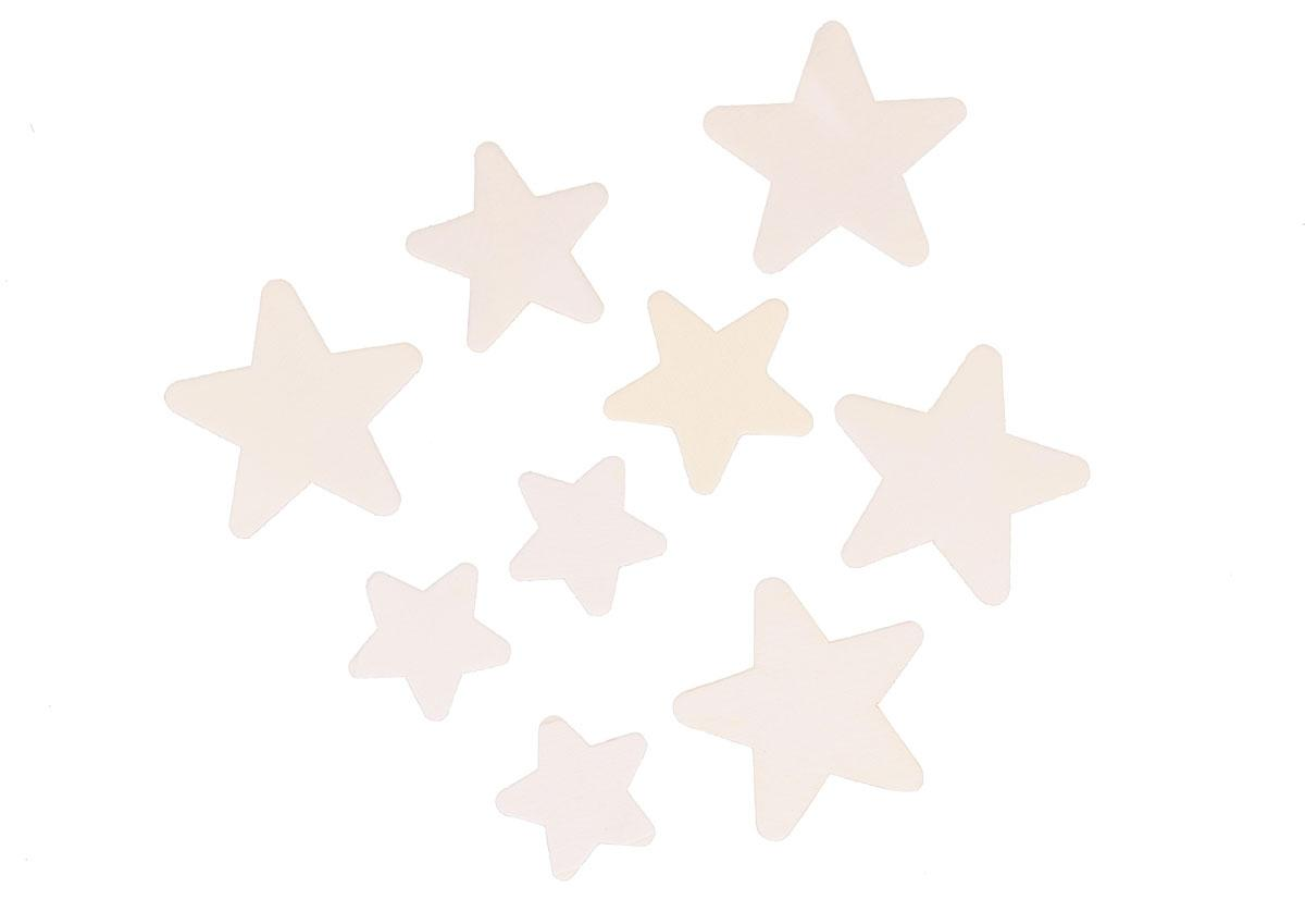 Estrelas de Madeira Natural | Tamanhos Vários