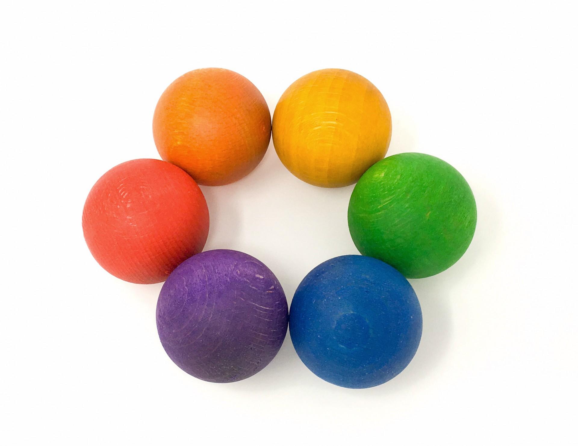 6 Bolas Coloridas - Grapat
