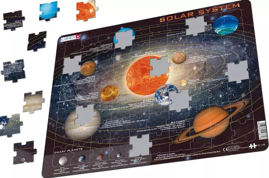 Sistema Solar Puzzle de Peças - Larsen
