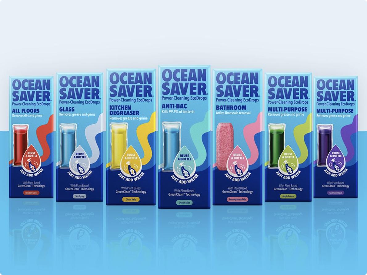 Detergentes em Cápsula Solúvel | Produtos de Limpeza Vários | Ocean Saver