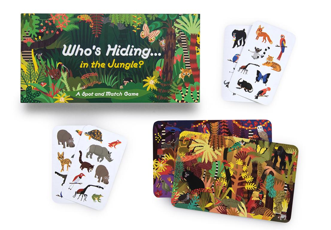 Who's Hiding in The Jungle? | Quem se esconde na Selva?
