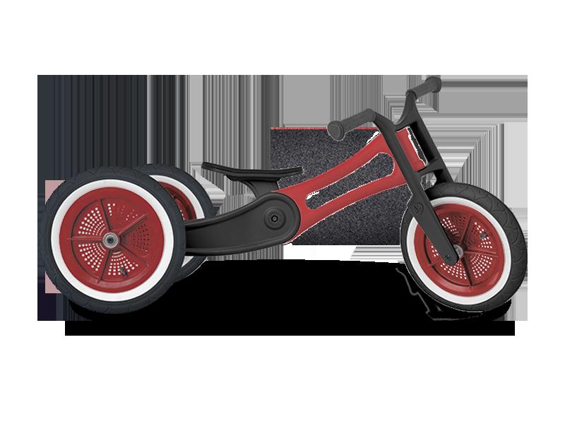 Encarnada Bicicleta Edição Reciclada 3 em 1| Wishbone