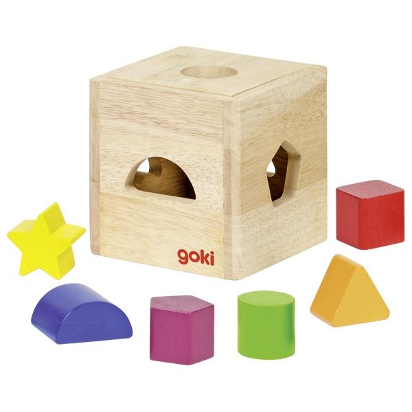 Caixa com Formas Geométricas