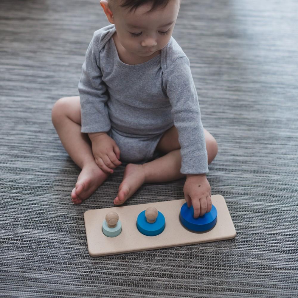 Círculo Puzzle de Pareamento - Plan Toys