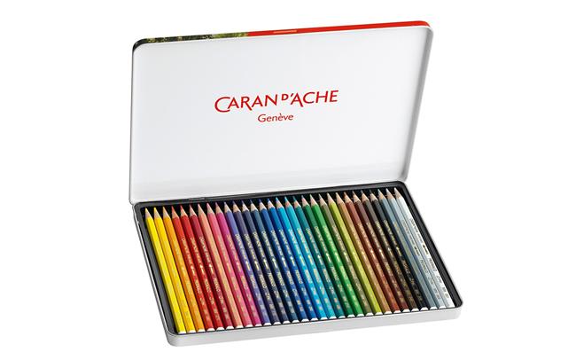 30 Lápis Aquareláveis PRISMALO | Caran D'Ache