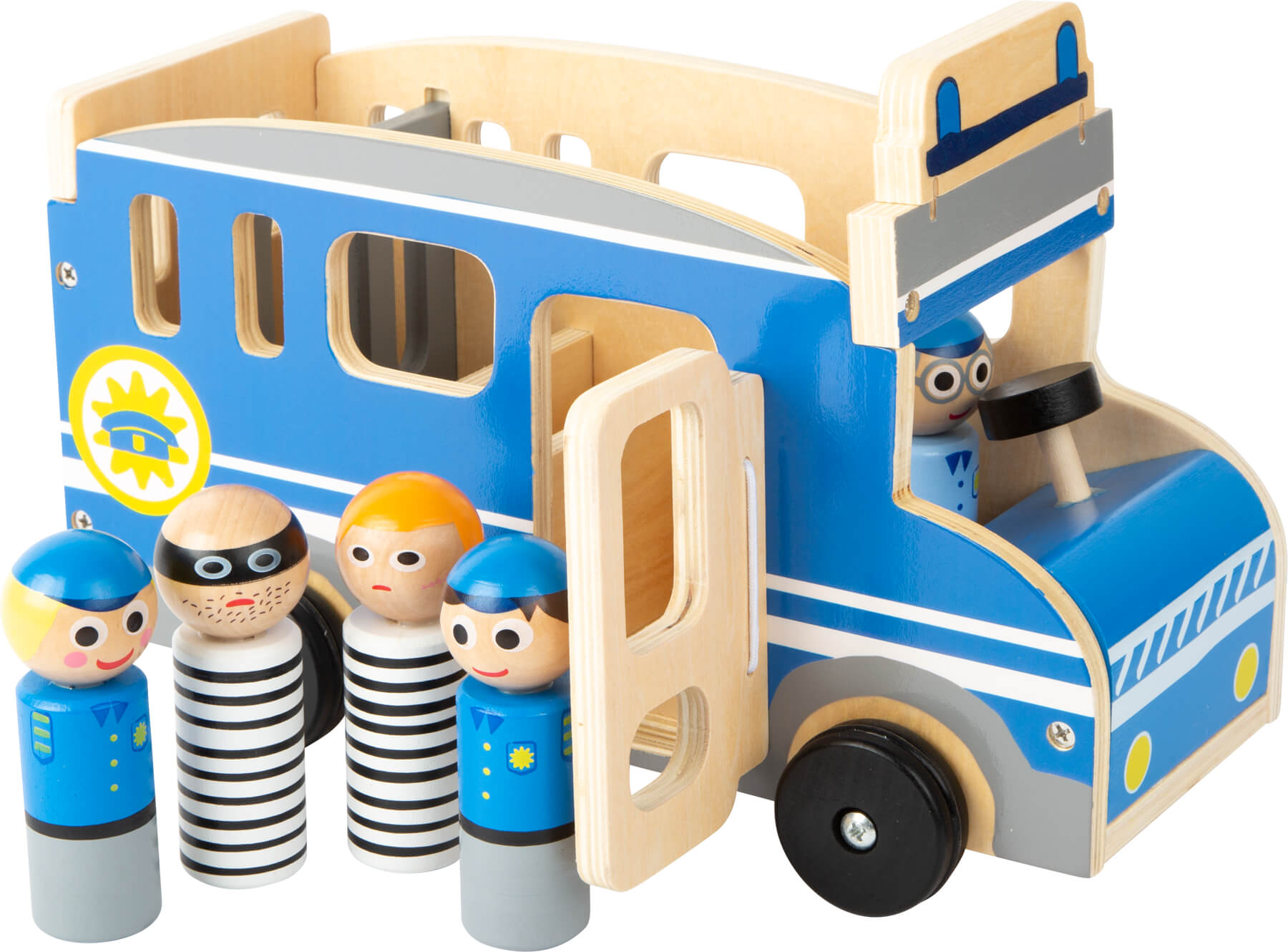 Autocarro Polícia & Ladrão