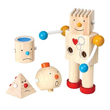 Robô das Emoções - Plan Toys