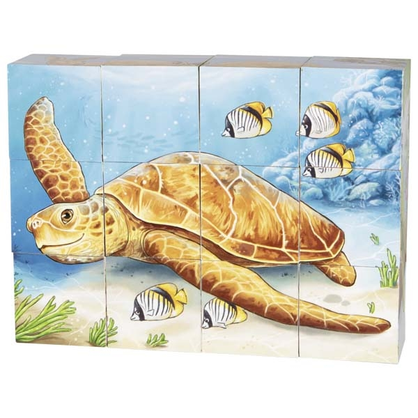 Animais Australianos | Puzzle de Cubos