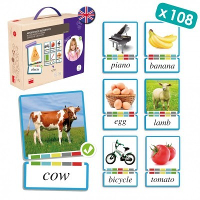 Self Learning Cards: Nouns English - Akros