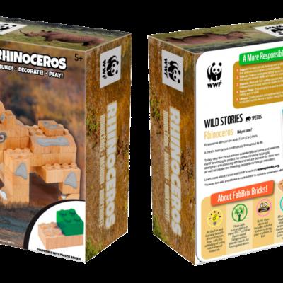 Rinoceronte   FabBrix Bricks