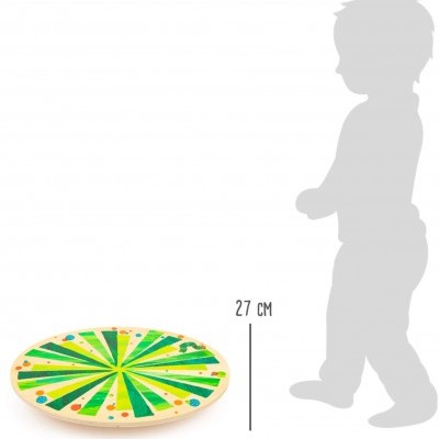 Prancha de Equilíbrio Circular A Lagarta Comilona
