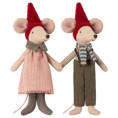 Ratos Pais em Caixa de Fósforo - Maileg