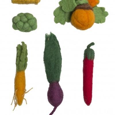 Conjunto de 5 Vegetais - Papoose