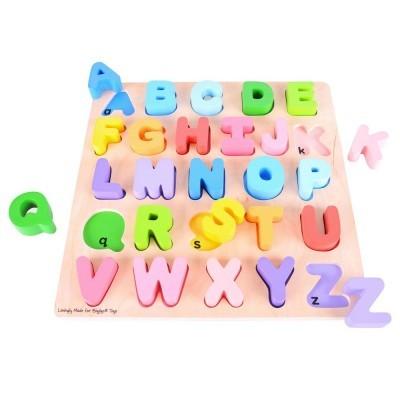 Puzzle Alfabeto 3D (maiúscula) - BigJigs