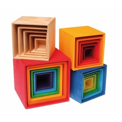 Small Set of Boxes, natural - Grimm´s