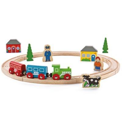 A minha Primeira Pista de Comboio