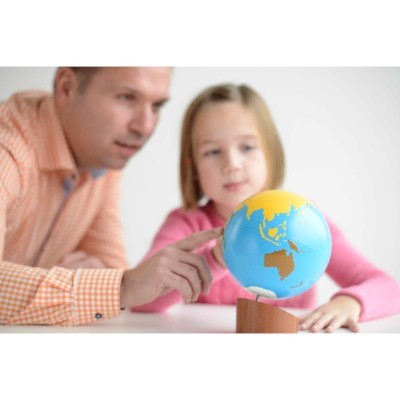 Globo dos Continentes - Nienhuis Montessori