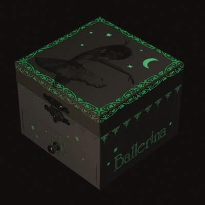 Caixa de Música Bailarina   Brilha no Escuro