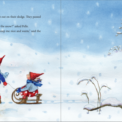 Pippa and Pelle in the Winter Snow - Floris Books