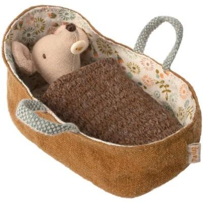 Ratinho Bebé em Alcofa - Maileg