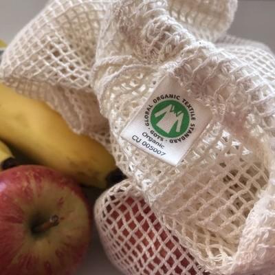 Saco Reutilizável Orgânico- Bosque Feliz