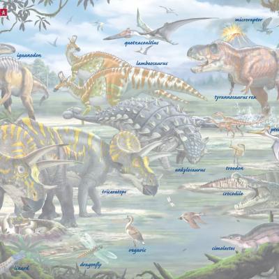 Puzzle Dinossauros | Larsen