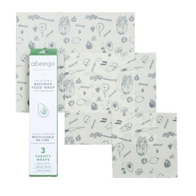 Beeswax Wraps Pack Variado - Abeego