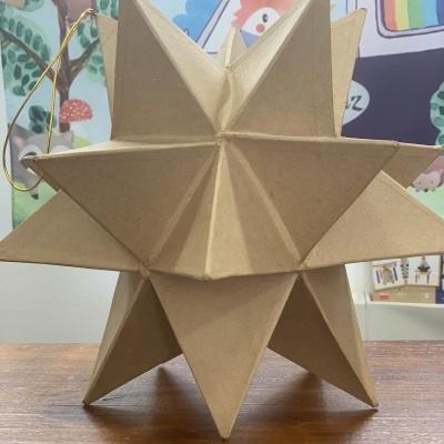 Estrelas 3D | Papel Marche para pintar
