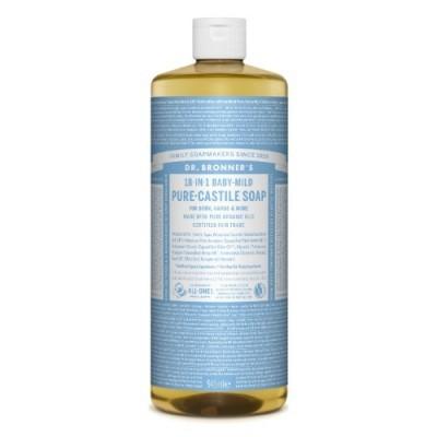 Suave-Bebé (sem perfume) Sabonete Líquido Biológico - Dr. Bronner's