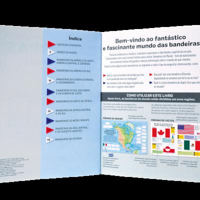 Bandeiras do Mundo - Livro de Autocolantes