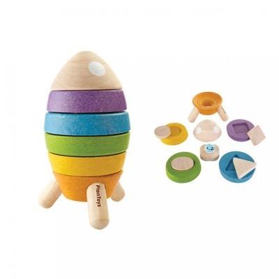 Foguetão Arco-Íris - Plan Toys