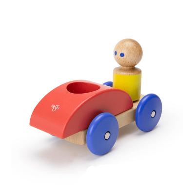 Carro de Corrida Magnético Vermelho - Tegu