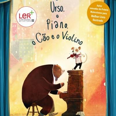 O Urso, O Piano, O Cão e o Violino - Booksmile