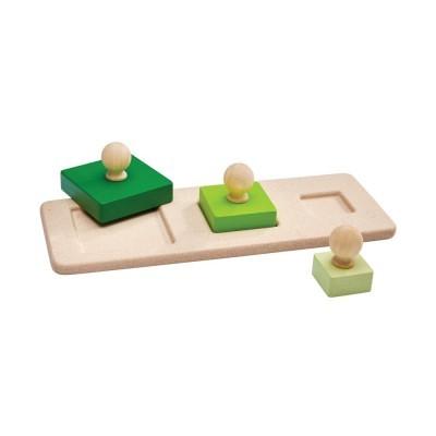 Quadrado Puzzle de Pareamento - Plan Toys