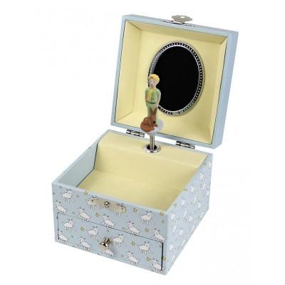 Caixa de Música Principezinho© Sentado na Lua Quadrada & Fluorescente