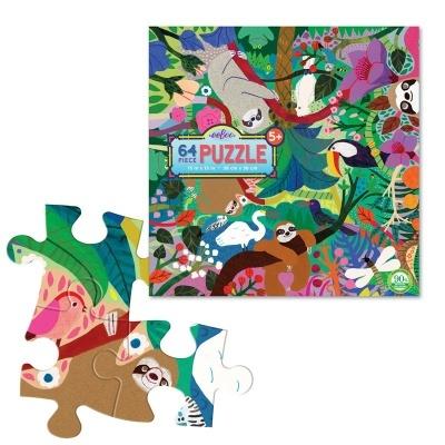 Puzzle das Preguiças | 64 peças