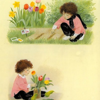 Spring Illustrated Book - Floris Books