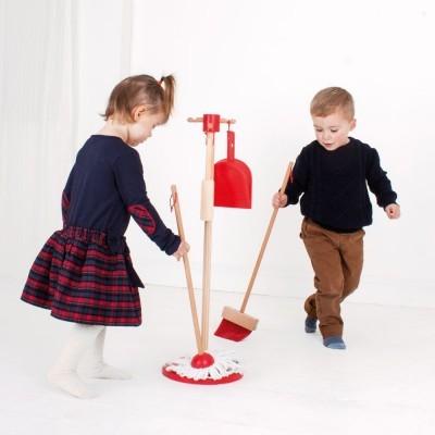 Conjunto de Limpeza Vermelho - BigJigs