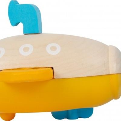 Submarino Amarelo de corda   Brinquedo de Água