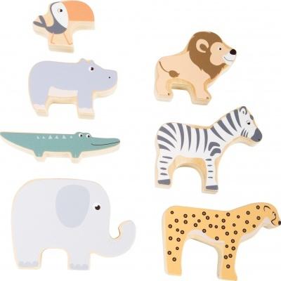 Animais Safari de Empilhar