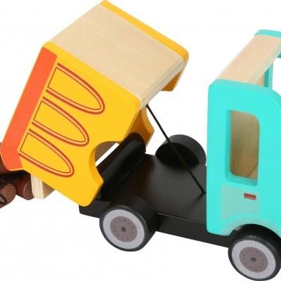 Camião Basculante com troncos