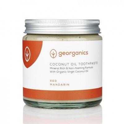 Pasta de Dentes Natural e Orgânica Georganics – Toranja